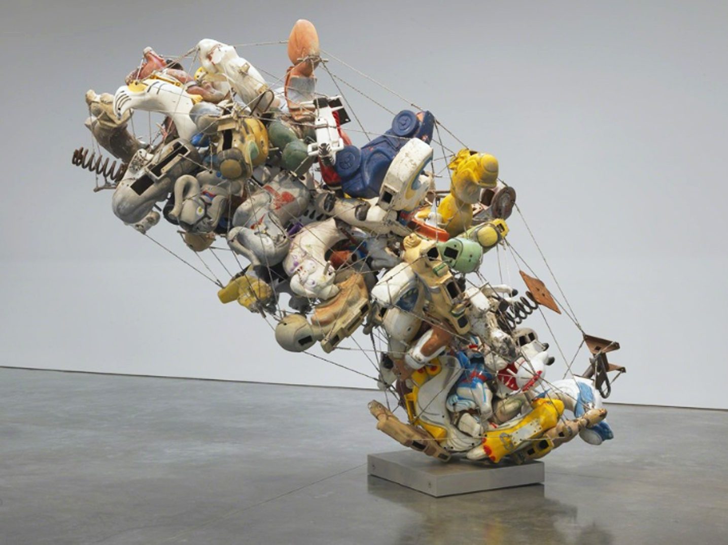 Nancy Rubins Sculpture Gagosian